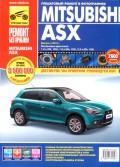 Купить руководство по ремонту Книга Mitsubishi ASX (с 2010) Ремонт без проблем. (цвет. фото)