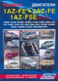 Купить руководство по ремонту Книга Toyota двигатели 1AZ-FE, 2AZ-FE, 1AZ-FSE