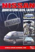 Купить руководство по ремонту Книга Nissan двигатели LD20; LD20T