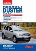 Купить руководство по ремонту Книга Renault  Duster 4х2 и 4х4 Своими силами.Цветное фото
