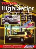 Купить руководство по ремонту Книга Toyota Highlander 2001-07 бенз. 2AZ-FE(2,4), 1MZ-FE(3,0), 3MZ-FE(3,3) Ремонт. Экспл. ТО (+Каталог з/ч для ТО)