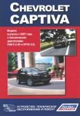 Купить руководство по ремонту Книга Chevrolet Captiva. Устройство, техническое обслуживание и ремонт
