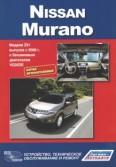 Купить руководство по ремонту Книга Nissan Murano. Серия Профессионал. Устройство, техническое обслуживание и ремонт.