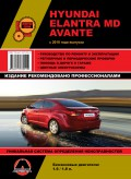 Купить руководство по ремонту Книга Hyundai Elantra MD / Avante (с 2010) Ремонт.Эксплуатация
