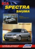 Купить руководство по ремонту Книга KIA Spectra (2005-09), KIA Shuma (2001-04) Устройство, техн.обслуживание и ремонт