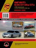 Купить руководство по ремонту Книга Infiniti G35/37 / Nissan 350Z (с 2006 / рестайлинг 2008). Руководство по ремонту, инструкция по эксплуатации и техническому обслуживанию