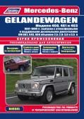 Купить руководство по ремонту Книга Mercedes-Benz Gelandewagen (W460/461/463) 1987-98 с дизельными двигателями ОМ602/603/606 (2,5;2,9;3,0;3,5) серия ПРОФЕССИОНАЛ Ремонт. Эксплуатация. ТО