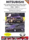 Купить руководство по ремонту Книга Mitsubishi Colt/Lancer/Mirage/Sapporo