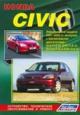 Купить руководство по ремонту Книга Honda Civic. Леворульные модели 2001-2005 г.