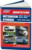 Купить руководство по ремонту Книга Mitsubishi двиг. 4D33; 4D34-T4; 4D35; 4D36 & Hyundai двиг. D4AF; D4AK; D4AE