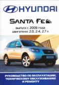 Купить руководство по ремонту Книга Hyundai Santa Fe c 2006 г.