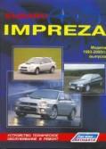 Купить руководство по ремонту Книга Subaru Impreza