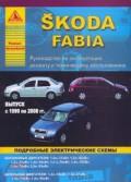Купить руководство по ремонту Книга SKODA FABIA 1999-2008гг. Экспл.,рем, ТО. Эл.схемы.