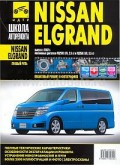 Купить руководство по ремонту Книга Nissan Elgrand (прав.руль) б с 2002 Школа авторемонта. ч/б фото