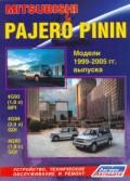 Купить руководство по ремонту Книга Mitsubishi Pajero Pinin 1999-05 с бензиновыми двигателями 4G93 (1,8 GDI), 4G94 (2,0 GDI), 4G93 (1,8 MPI) Ремонт. Эксплуатация. ТО