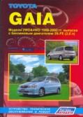 Купить руководство по ремонту Книга Toyota GAIA (2WD & 4WD)
