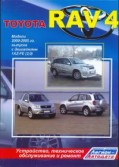 Купить руководство по ремонту Книга Toyota RAV4 леворульные модели 2000-05 бензин. 1AZ-FE (2,0) Ремонт. Эксплуатация. ТО